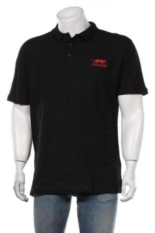 Мъжка тениска Airness, Размер XL, Цвят Черен, Памук, Цена 21,12лв.