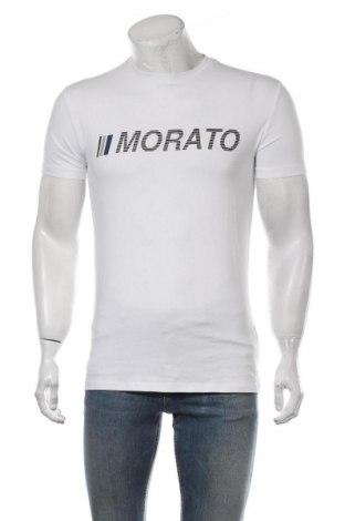 Мъжка тениска Antony Morato, Размер M, Цвят Бял, 95% памук, 5% еластан, Цена 45,82лв.