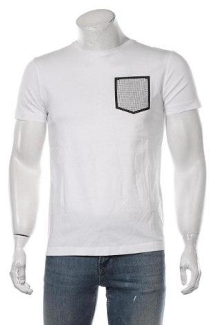 Мъжка тениска Antony Morato, Размер S, Цвят Бял, Памук, Цена 45,82лв.