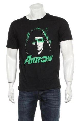 Мъжка тениска Arrow, Размер M, Цвят Черен, Памук, Цена 16,20лв.