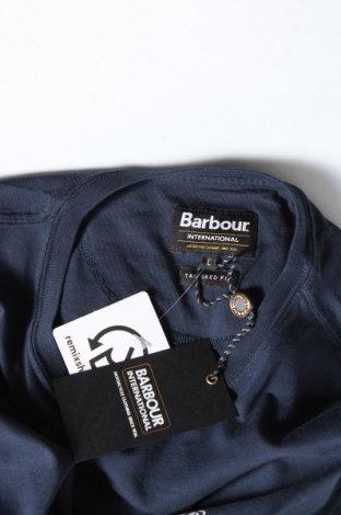 Мъжка тениска Barbour, Размер L, Цвят Син, Памук, Цена 42,90лв.