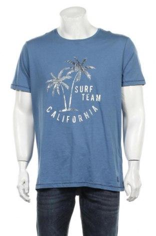 Мъжка тениска Blend, Размер XL, Цвят Син, Памук, Цена 27,00лв.