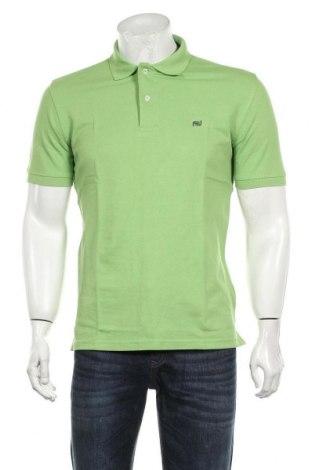 Мъжка тениска Camicissima, Размер M, Цвят Зелен, Памук, Цена 18,56лв.