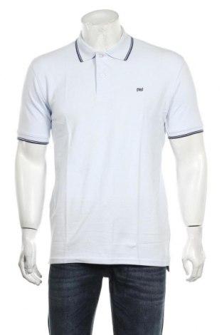 Мъжка тениска Camicissima, Размер L, Цвят Син, Памук, Цена 18,56лв.