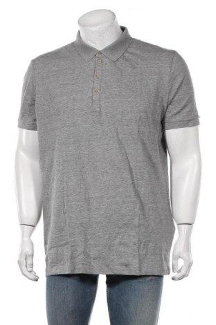 Мъжка тениска Celio, Размер XXL, Цвят Сив, Памук, Цена 20,88лв.