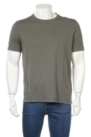 Мъжка тениска Cinque, Размер L, Цвят Зелен, Памук, Цена 34,22лв.
