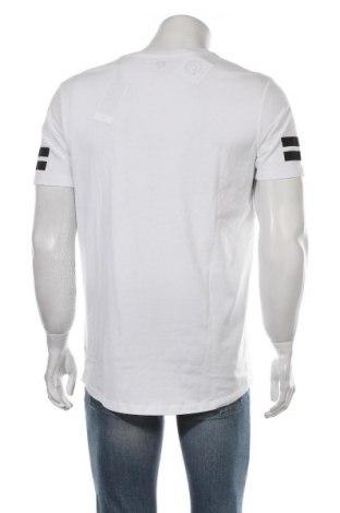 Мъжка тениска Core By Jack & Jones, Размер L, Цвят Бял, Памук, Цена 26,95лв.