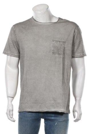 Мъжка тениска Eleven Paris, Размер XL, Цвят Сив, 100% памук, Цена 66,75лв.