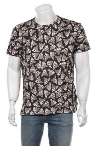 Мъжка тениска Eleven Paris, Размер M, Цвят Черен, Памук, Цена 53,40лв.