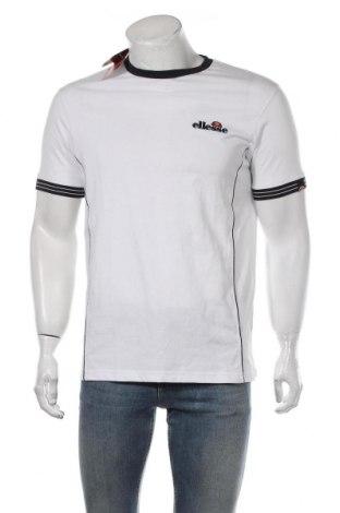 Мъжка тениска Ellesse, Размер M, Цвят Бял, 100% памук, Цена 25,50лв.