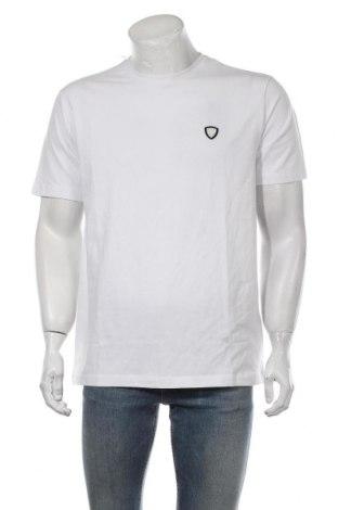 Мъжка тениска Emporio Armani, Размер XXL, Цвят Бял, 95% памук, 5% еластан, Цена 119,25лв.