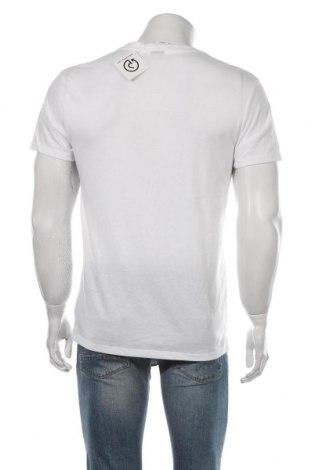 Мъжка тениска G-Star Raw, Размер M, Цвят Бял, 50% памук, 50% полиестер, Цена 40,70лв.