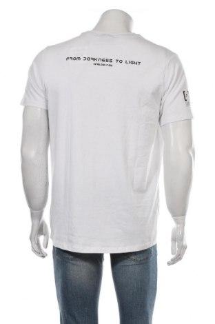 Мъжка тениска Haily`s, Размер L, Цвят Бял, 95% памук, 5% еластан, Цена 17,60лв.