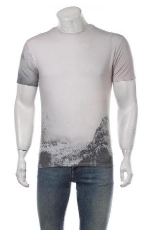 Мъжка тениска JUNIQE, Размер S, Цвят Сив, 50% памук, 50% полиестер, Цена 20,90лв.
