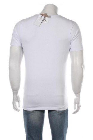 Мъжка тениска Jack & Jones, Размер S, Цвят Бял, 92% памук, 8% еластан, Цена 15,96лв.