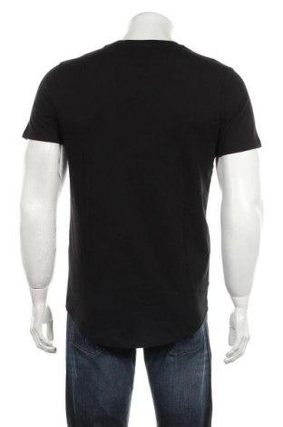 Мъжка тениска Jack & Jones, Размер S, Цвят Черен, Памук, Цена 21,45лв.
