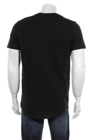 Мъжка тениска Jack & Jones, Размер M, Цвят Черен, Памук, Цена 21,45лв.