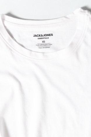 Мъжка тениска Jack & Jones, Размер XS, Цвят Бял, Памук, Цена 16,38лв.
