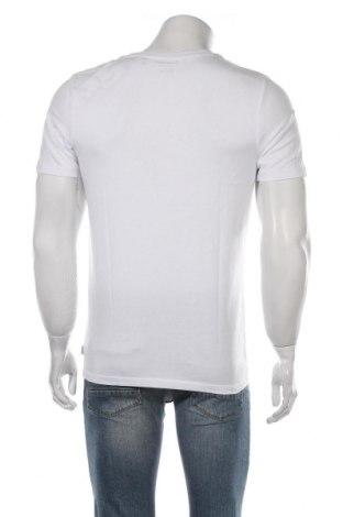 Мъжка тениска Jack & Jones, Размер M, Цвят Бял, Памук, Цена 20,90лв.