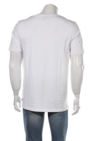 Мъжка тениска Jack & Jones, Размер XL, Цвят Бял, Памук, Цена 20,88лв.