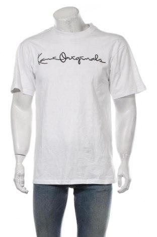 Męski T-shirt Karl Kani, Rozmiar S, Kolor Biały, Bawełna, Cena 61,43zł