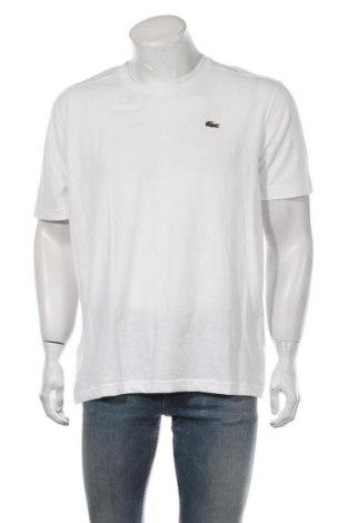 Мъжка тениска Lacoste, Размер XL, Цвят Бял, 65% памук, 35% полиестер, Цена 53,72лв.