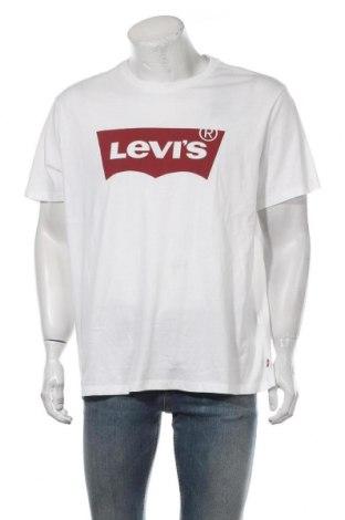 Tricou de bărbați Levi's, Mărime XL, Culoare Alb, Bumbac, Preț 81,51 Lei