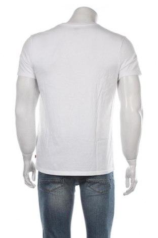 Мъжка тениска Levi's, Размер L, Цвят Бял, Памук, Цена 32,48лв.