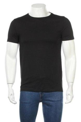 Мъжка тениска Lindbergh, Размер S, Цвят Черен, Памук, Цена 18,56лв.