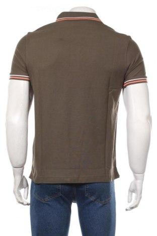 Мъжка тениска Lotto, Размер S, Цвят Зелен, Памук, Цена 29,25лв.