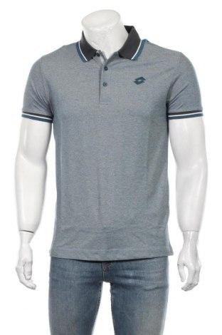 Мъжка тениска Lotto, Размер S, Цвят Син, 64% полиестер, 36% памук, Цена 24,00лв.