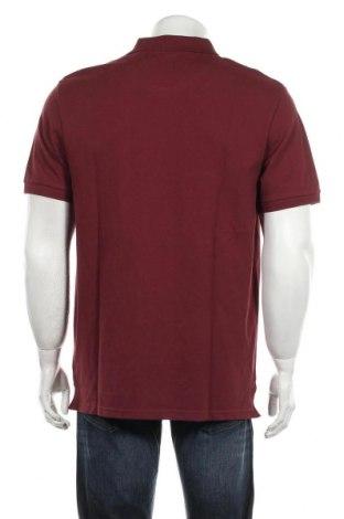 Мъжка тениска Lyle & Scott, Размер XL, Цвят Червен, 98% памук, 2% еластан, Цена 37,95лв.