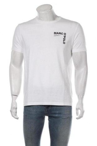 Мъжка тениска Marc O'Polo, Размер M, Цвят Бял, Памук, Цена 37,38лв.
