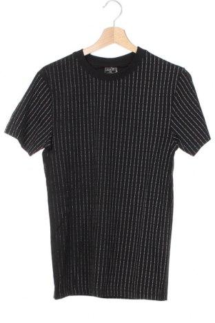 Мъжка тениска Mister Tee, Размер XS, Цвят Черен, Памук, Цена 18,56лв.