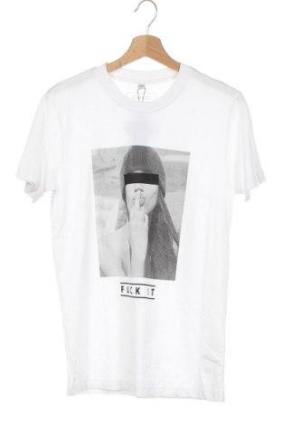 Мъжка тениска Mister Tee, Размер XS, Цвят Бял, Памук, Цена 18,56лв.