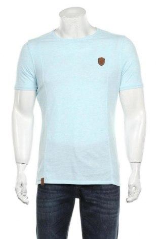 Мъжка тениска Naketano, Размер M, Цвят Син, Цена 21,00лв.