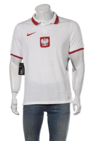 Tricou de bărbați Nike, Mărime M, Culoare Alb, Poliester, Preț 131,64 Lei