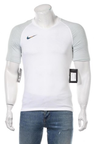 Мъжка тениска Nike, Размер S, Цвят Бял, Полиестер, Цена 51,75лв.