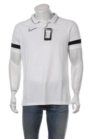 Tricou de bărbați Nike, Mărime L, Culoare Alb, Poliester, Preț 95,40 Lei