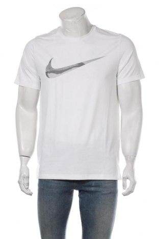 Tricou de bărbați Nike, Mărime S, Culoare Alb, 93% poliester, 7% elastan, Preț 106,91 Lei