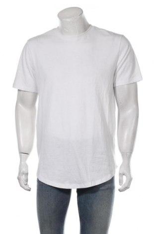 Мъжка тениска Only & Sons, Размер L, Цвят Бял, Памук, Цена 19,50лв.