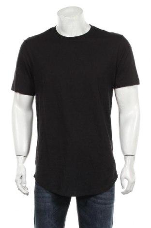 Мъжка тениска Only & Sons, Размер L, Цвят Черен, Памук, Цена 14,30лв.