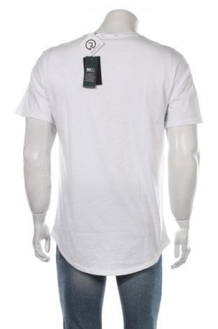Мъжка тениска Only & Sons, Размер L, Цвят Бял, Памук, Цена 16,82лв.
