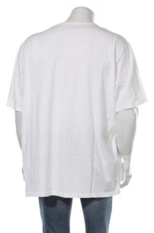 Мъжка тениска Pier One, Размер 5XL, Цвят Бял, Памук, Цена 24,00лв.