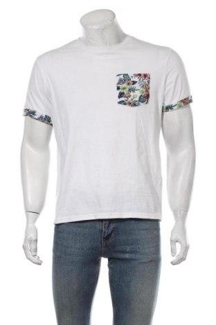 Мъжка тениска Pier One, Размер XL, Цвят Бял, Памук, Цена 21,00лв.