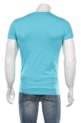 Мъжка тениска RG 512, Размер S, Цвят Син, Памук, Цена 18,56лв.