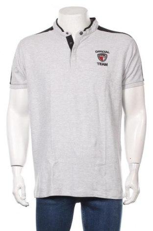 Мъжка тениска RG 512, Размер XL, Цвят Сив, Памук, Цена 21,60лв.