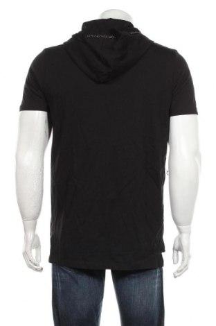 Мъжка тениска RNT23 Jeans, Размер M, Цвят Черен, Цена 35,40лв.