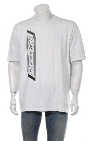 Мъжка тениска Reebok, Размер L, Цвят Бял, Памук, Цена 22,04лв.