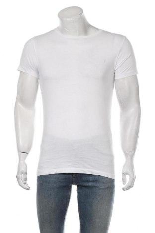Мъжка тениска Replay, Размер S, Цвят Бял, Памук, Цена 43,45лв.